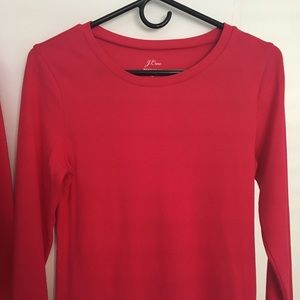 JCrew Perfect Fit long sleeve top